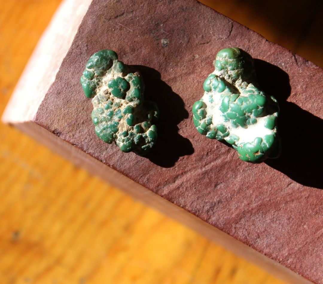 Turquoise vein study, Nuggets (Stone Mountain Turquoise NFS)